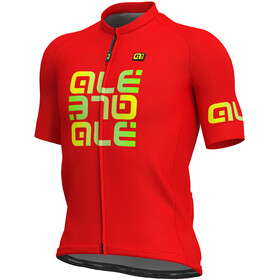 Alé Cycling Solid Mirror SS Jersey Men red